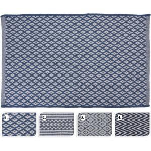 Tkaný koberec v štyroch rôznych vzoroch 34236