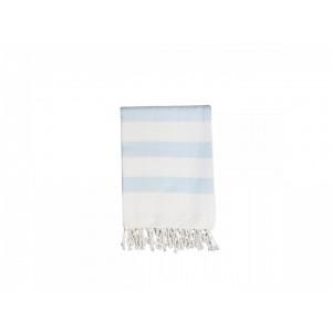 Uterák v modro bielej farbe so strapcami Chic Antique 34809