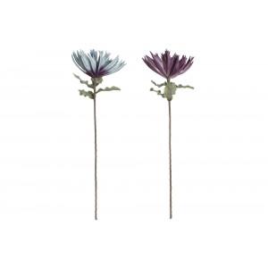 Voskový umelý kvet v dvoch farebných prevedeniach 25 x 25 x 83 cm 35297