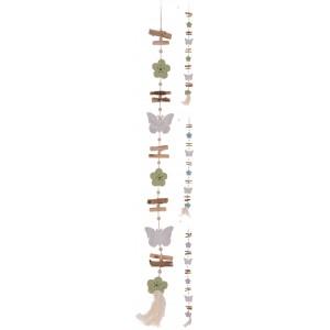 Girlanda motýľ 110cm 26756