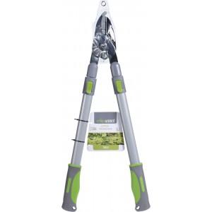 Záhradnícke kovové zelené nožnice teleskopické 63-83 cm 35086