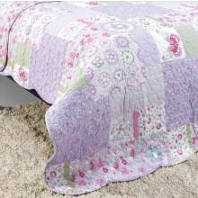 Prehoz na posteľ + 1 obliečka na vankúš 22179