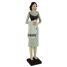 Žena čašníčka polyresin maxi 64cm 27982