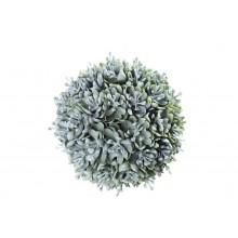 Guľa zeleno - sivá 12cm 25210