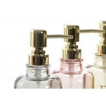 Sklenený dávkovač tekutého mydla 390 ml 32782