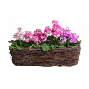 Kvetináč - truhlík vyrobený z brezy 50cm 32171