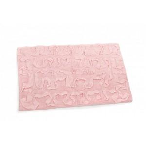 Koberec kúpeľňový ružový 24638