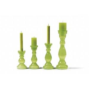 Svietnik zelený 36cm 26032
