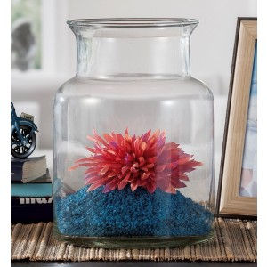 Váza sklo 18,5x25,5cm 27854