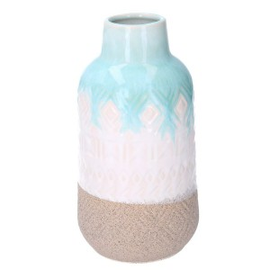 Váza keramická modro-biela 31615