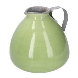 Váza keramická zelená 31624