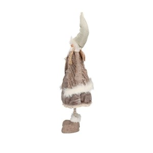 Postavička anjel - krémový, textil 29132