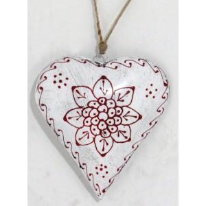 Srdce kov biele 26150