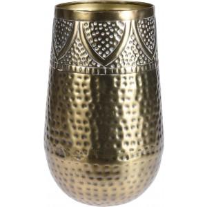 Váza kovová - farba zlatá 31030