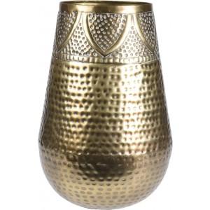Váza kovová - farba zlatá 31031