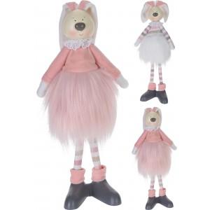 Zajac ružový 50cm 29634