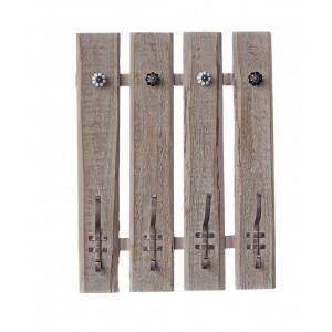Vešiak drevo 46x9,5x60cm 25688