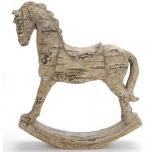 Koník hojdací 29x30 cm 25044