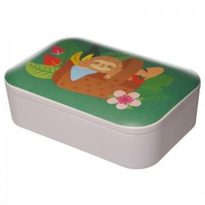 Box desiatový z bambusu - vzor Lenivec PUCKATOR 28380