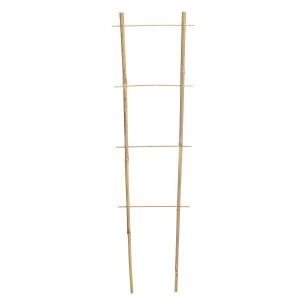 Bambusový rebrík - podpora na rastliny 120 cmx35 cm x10/12 mm 33105