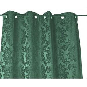 Záves smaragd.zelené 135x270cm 32304