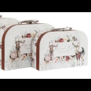 kufrík vianočný - motív jeleň 29521