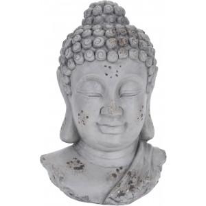 Budha hlava z cementu34327
