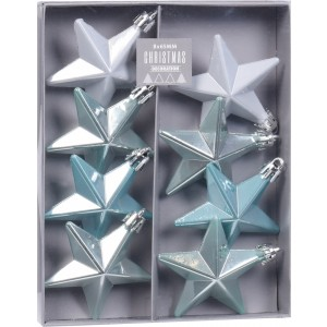 Hviezdy vianočné - modré 32012