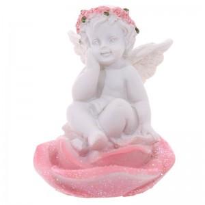 Anjel sediaci na ruži PUCKATOR 31172