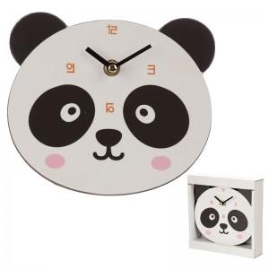 Hodiny panda MDF 17,x16cm PUCKATOR 27539