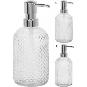 Elegantný sklenený dávkovač tekutého mydla 34324