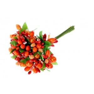 Kytička oranžová 11cm 25758