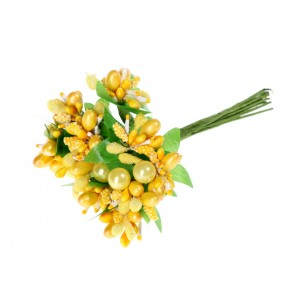 Kytička žltá 11cm 25763