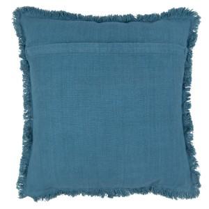 Vankúš modrý bavlna 45x45cm 32266