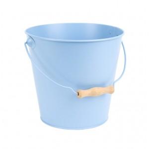 Kovové vedro modré 20,5 cm Esschert design