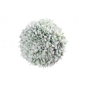 Guľa zeleno - biela 12cm 25211