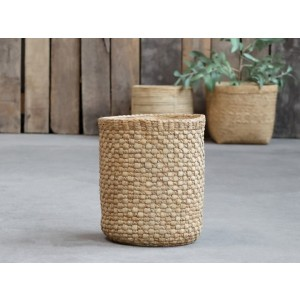 Kvetináč cementový s prepletaným vzorom ako imitácia prútia Chic Antique 34822