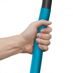 Lopata na sypké materiály z kvalitnej bórovej ocele, s ergonomickou rukoväťou,  dĺžka 1270 mm, hmotnosť 2,1 kg IDEAL PRO 33710