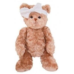 Medvedík hnedý Daniel Girlfriend s mašličkou 40 cm Bukowski design 35586