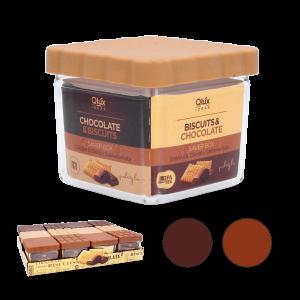 Nádoba na sušienky s čokoládovým viečkom 34621