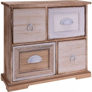 Skrinka 4 šuflíky 22728