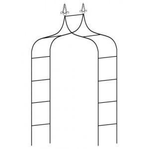 Pergola oblúk 150x37x240cm 26179