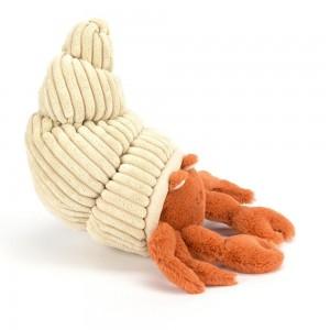 Plyšový béžovo hnedý krab Jellycat Herman Hermit 29 cm 33510