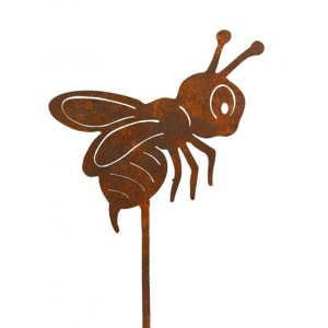 Kovová včielka Maja ručne robená 33976