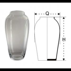 Váza sklenená 29851