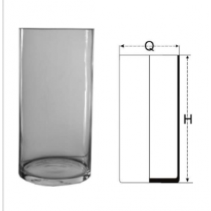 Váza sklenená 29825