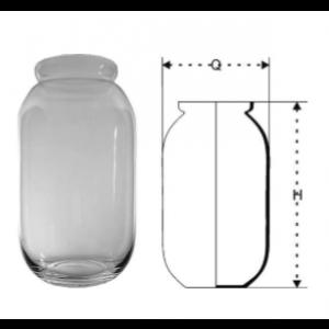 Váza sklenená 29847