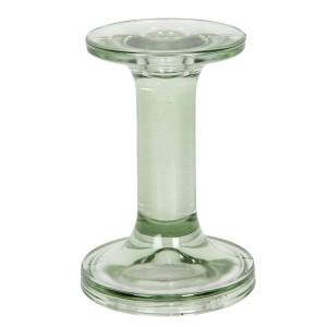 Sklenený zelený svietnik Ø 9x13 cm Clayre-Eef 33317