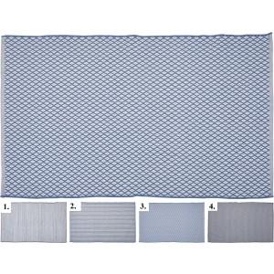 Tkaný koberec v štyroch rôznych vzoroch 34237